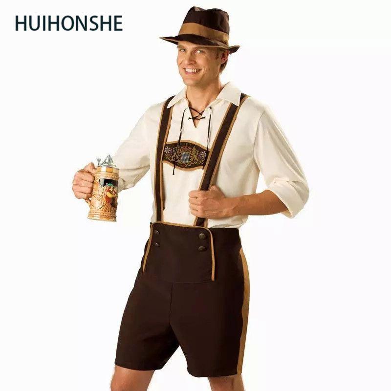 defff8eb3 Compre Plus Size Masculino Trajes Oktoberfest Tradicional Alemão Bavarian  Beer Masculino Cosplay Halloween Octoberfest Festa Festival Roupas De  Alfreld, ...