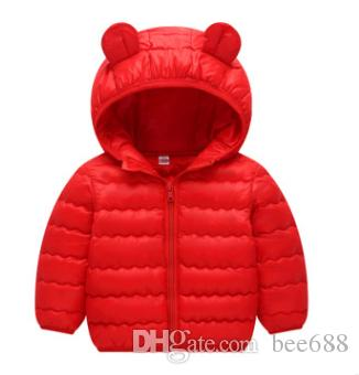 35e87e55f Light wave children s down jacket The boy s winter coat is short Medium  child s cotton-padded jacket Girl child s book