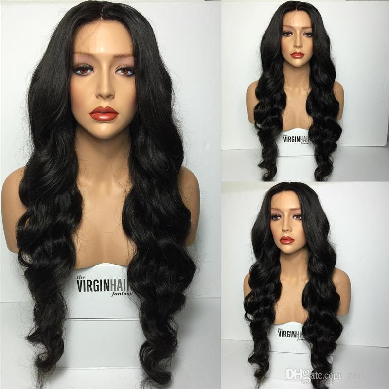 Brazilian Wet and Wavy Full Lace Human Hair Wigs For Black Women Glueless Natural deep Water Wave Lace Front Wigs With Baby Hair