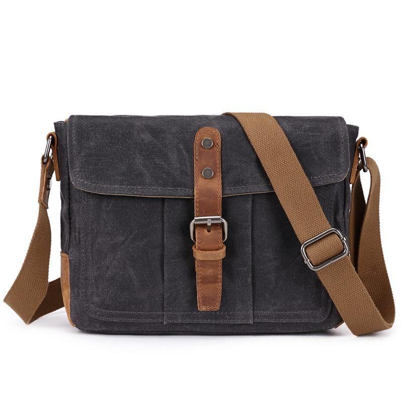 YUPINXUAN Europe Vintage Waterproof Canvas Shoulder Bags For Men Oil Wax  Canvas Leather Crossbody Bag Designer Man Bag Retro Womens Handbags Body  Bags From ... b3f64a5aac