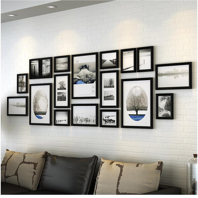 modern wood picture frames. Online Cheap Picture Frames Wood Luxurious Photo Combination For  Family Modern Wall By Huweilan | Dhgate.Com Modern Wood Picture Frames