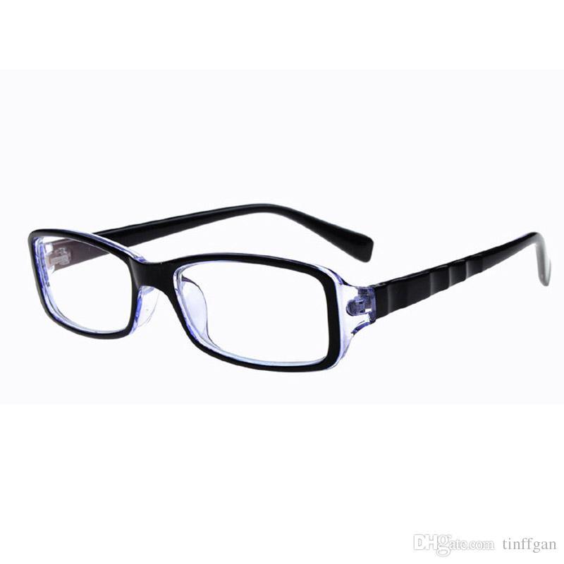ef8550517149 2018 New Optical Plain Mirror Oval Full Frame Student PC Eyeglasses Frames  With Coaded Lens Men Women Eye Glasses Frame For Myopia UK 2019 From  Tinffgan