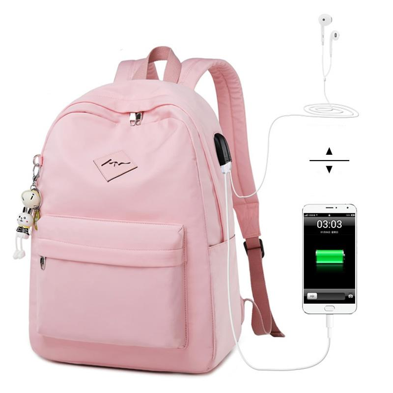 Fashion Waterproof Laptop Backpack Women College Student Bagpack Travel  Bookbag Bag For Teenager Girls Backpacks For College Backpacks For Kids From  ... 526fe0f2f