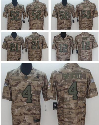 a273ed6a0 Camo Salute To Service Limited Jersey 21 Ezekiel Elliott 4 Dak Prescott  Dallas Cowboys Football Jerseys Von Miller Denver Broncos Factory UK 2019  From Us666 ...
