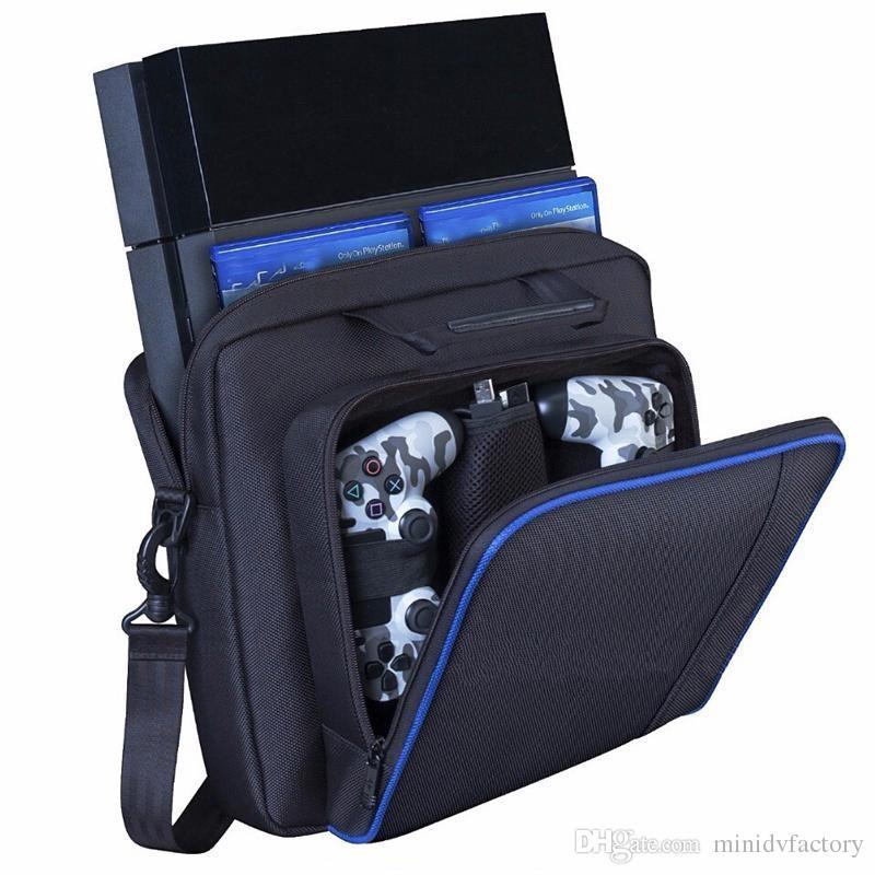 NOUVEAU PS4 Accessoires Sac de rangement Play Station 4 / Slim / Pro - Étui de transport pour console de jeu PS4 - Système pour PlayStation 4 / Slim / Pro