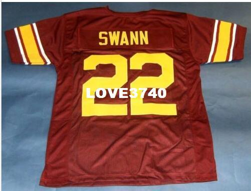 online retailer f810e 0d09d Men CUSTOM #22 LYNN SWANN CUSTOM USC TROJANS RETRO JERSEY SOUTHERN CAL  College Jersey size s-4XL or custom any name or number jersey