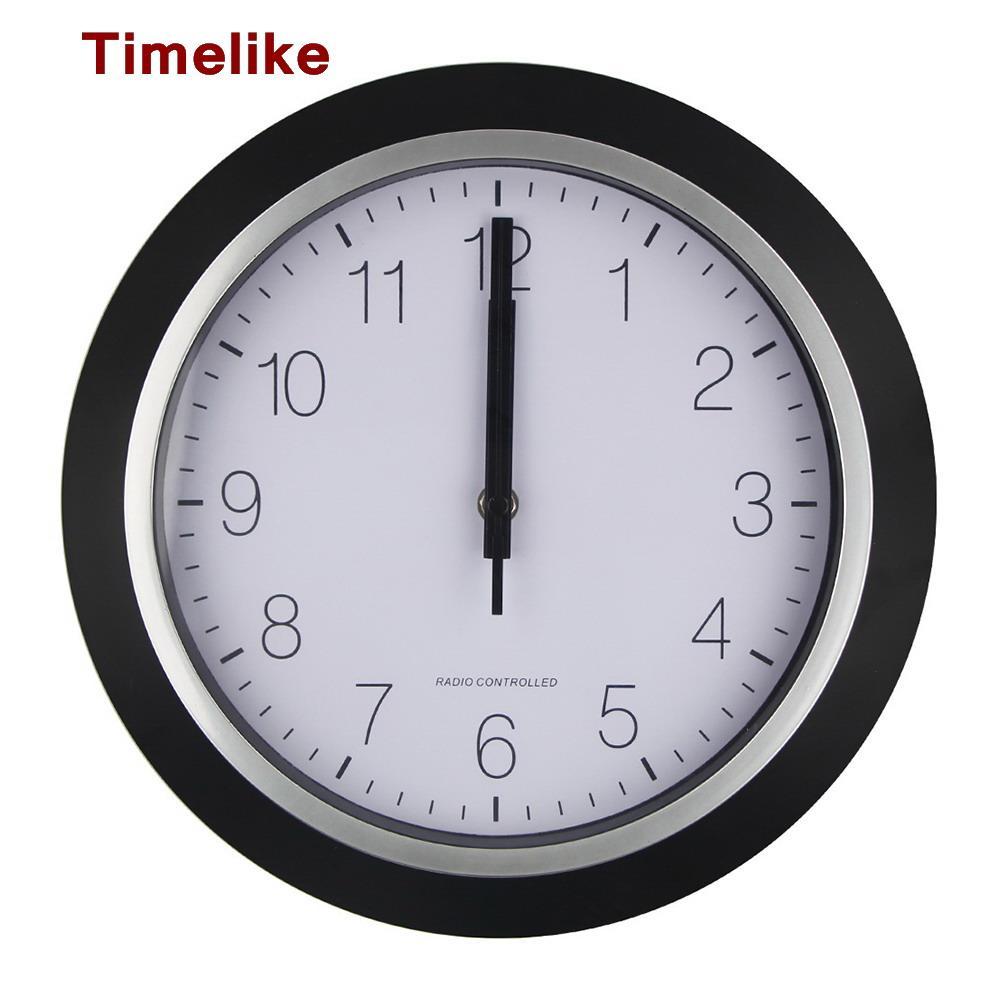 2018 Usa Radio Controlled Wall Clock Personalized Mute Wall Watch