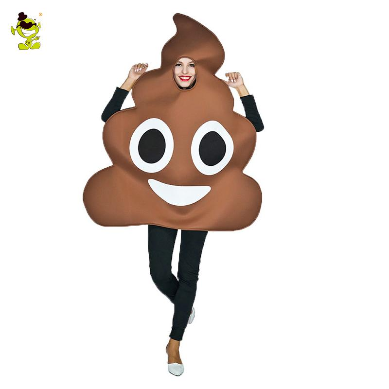 4155f2137a Funny Face Emoji Party Poop Costume Sponge Clothes Fancy Dress In Christmas  Costumes Suit For Adults Mascot Infant Costumes Chicken Costume From  Laftfly, ...