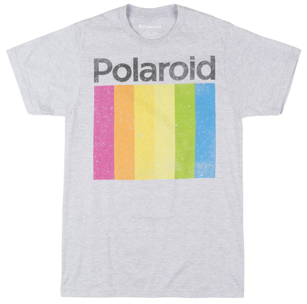1a38c6722506 Polaroid Instant Prism T Shirt Heather Grey MensFunny Unisex Casual Gift Tshirt  Tshirts From Justtheshirt