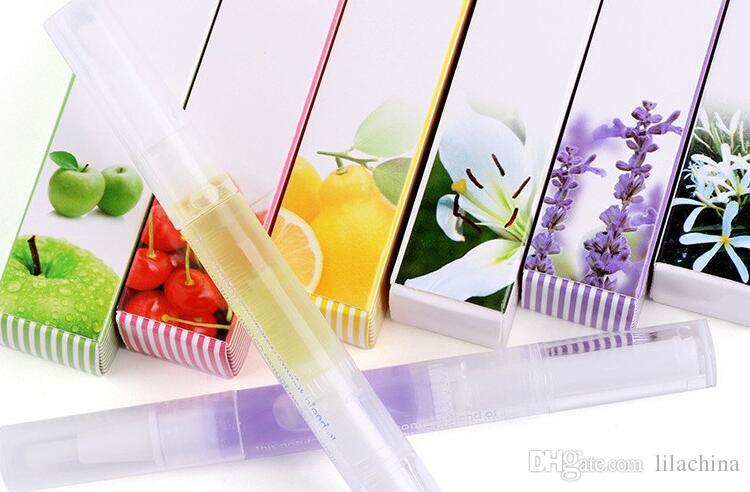 Питание нефтяные ручки смешанные ароматы, ремонт ногтей для ногтей Инструменты лечения Маникюрный комплект