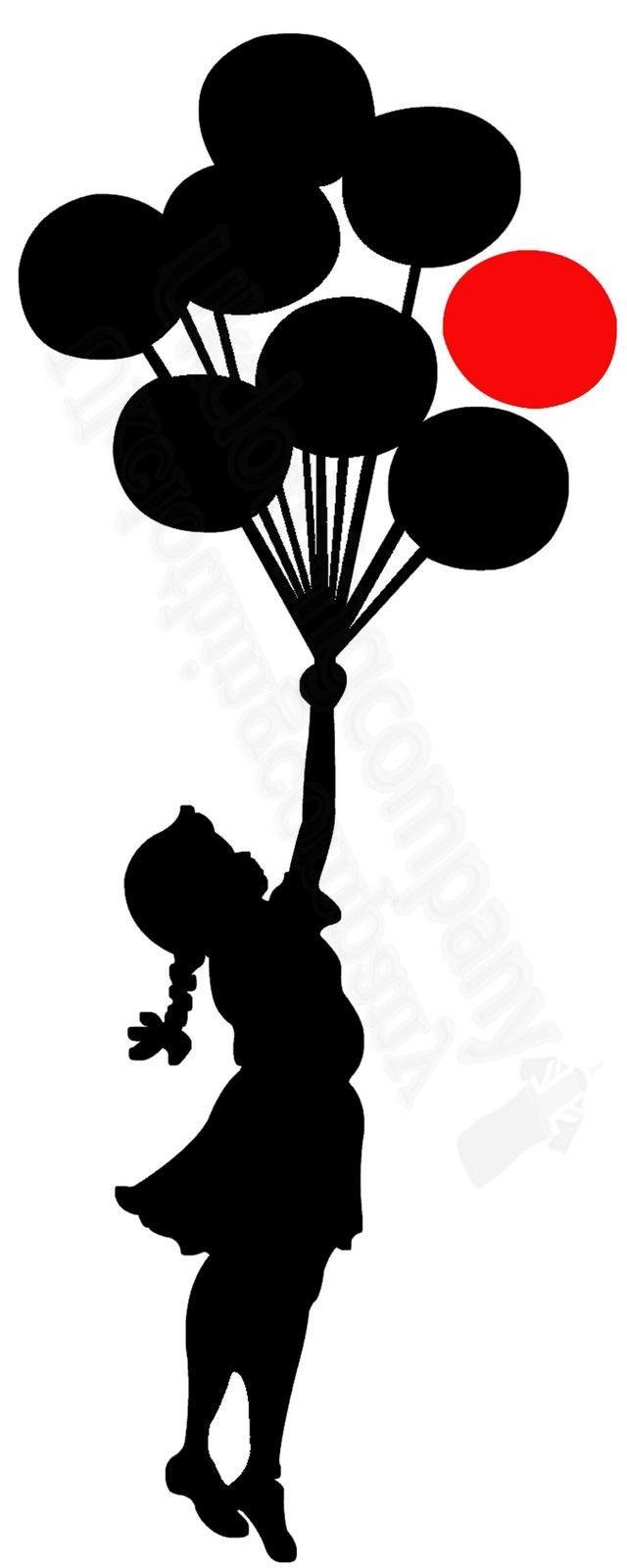 84437f493b5f BANKSY GIRL WITH RED AND BLACK BALLOONS T SHIRT GRAFFITI ART TOPS S TO 5XL  Cool Casual Pride T Shirt Ridiculous Shirts Awesome Tshirt Designs From ...