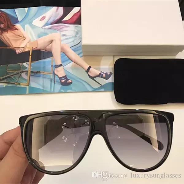 2ed4e2438fd3 AAA Sunglasses Vintage Audrey Fashion Women Brand Designer CL41435 ...