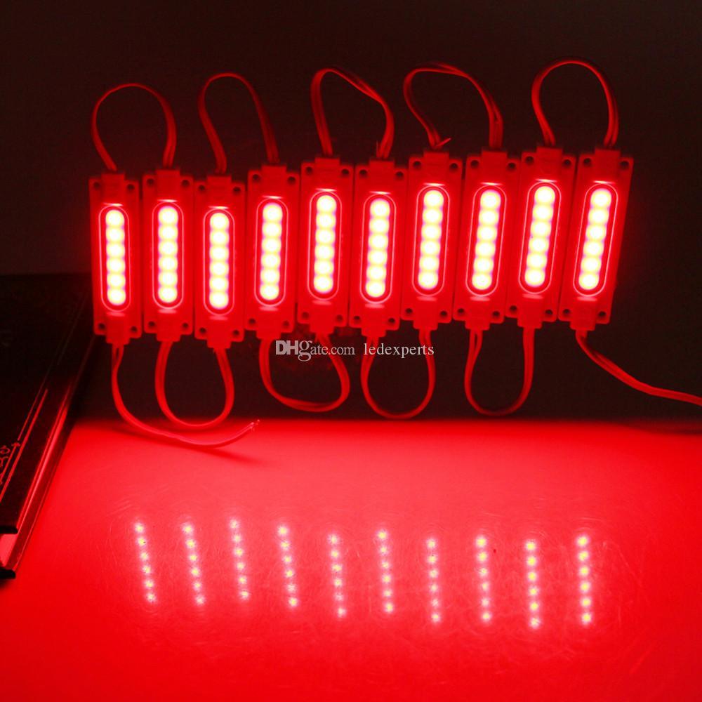 Iniezione COB LED modulo luce lampada DC12V 2W COB IP65 impermeabile retroilluminazione a LED del modulo luce a LED Spedizione gratuita
