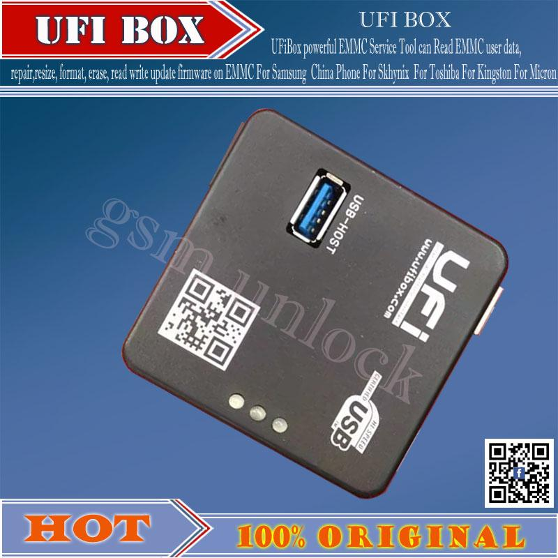 gsmjustoncct UFI Box powerful EMMC Service Tool Free Shipping