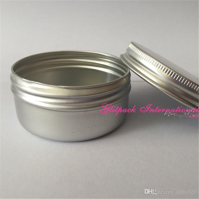 / 50g 매트 알루미늄 Jar 금속 상자 왁 스 Poamde 화장품에 대 한 빈 알루미늄 컨테이너 수 제 공예에 대 한 사용자 지정된 포장 촛불
