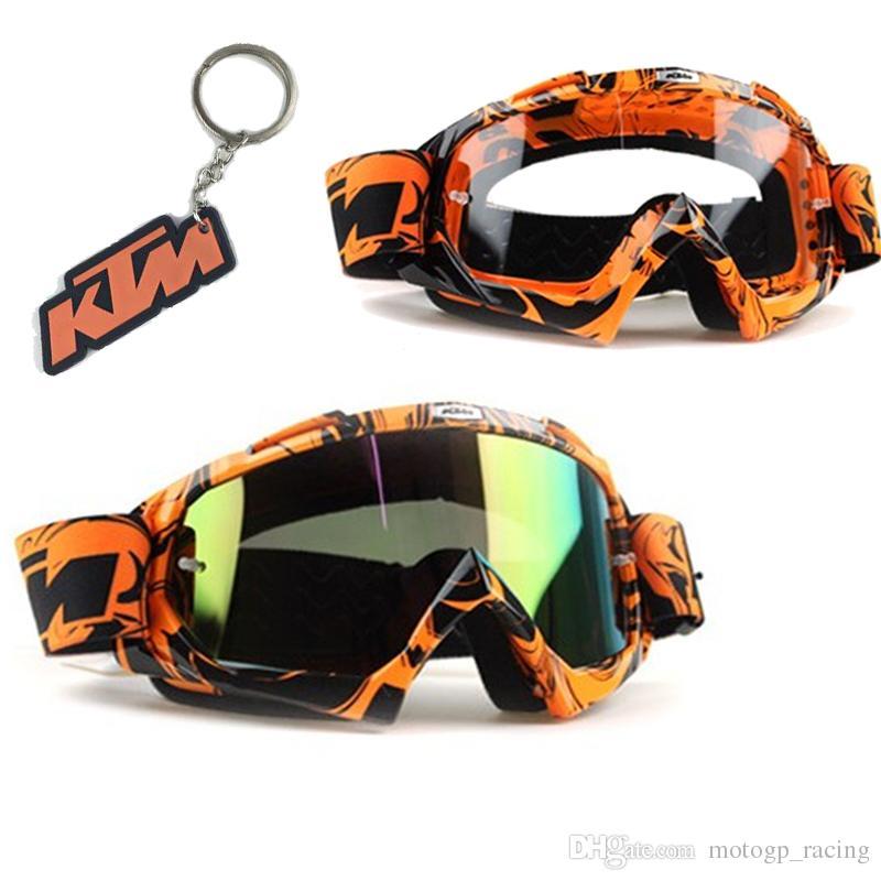 e602b93cffb7e0 Motorcycle Glasses Gafas Motocross For 100% KTM Gafas Riding Racing Moto  Lente Oculos Motogp Dirt Biker Motocross Unisex Outdoor Sports Bril  Motorcycle Rain ...