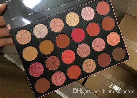 2018 Yeni 24G Göz Farı Paleti 24 Renk Göz Farı Toprak Rengi Lady Çıplak Göz Farı Paleti Ücretsiz Kargo