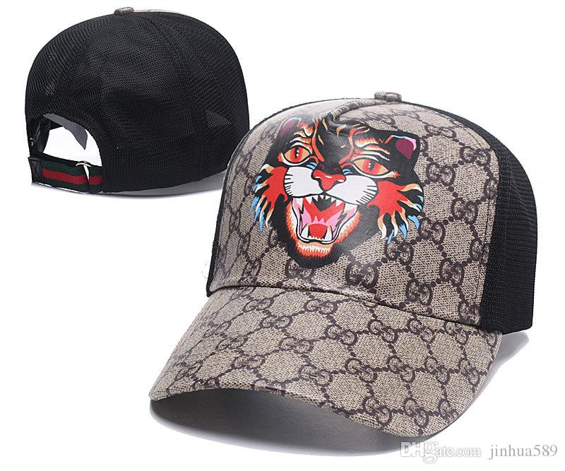 023751fa1ce Fitted Sports Hats Men Women Tiger Head Youth Baseball Hats Casquette  Luxury Casual Golf Ball 49Ers Dad Hat Unisex Embroidered Snapback G17 Flat  Bill Hats ...