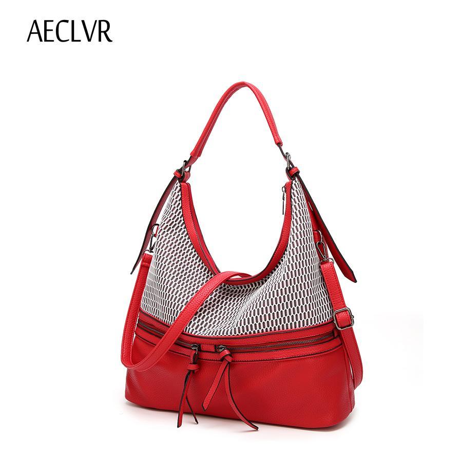 AECLVR Vintage Women Handbag Female PU Leather Shoulder Tote Bag For Bolsa  Feminina Designer Women Crossbody Bag Solid Purses Designer Handbags From  Heheda3 ... 761dfd5c00