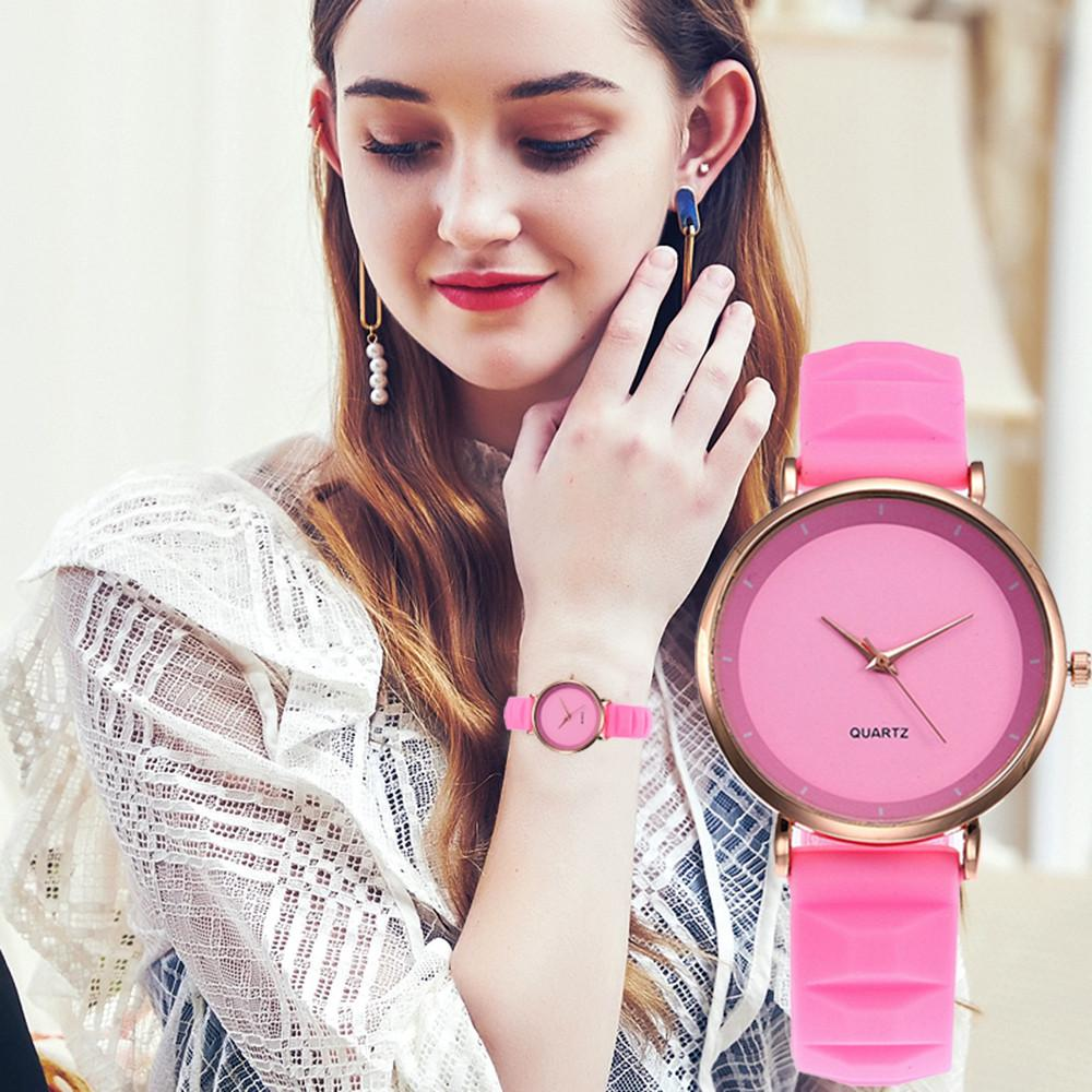 122a431910 Girls Color Strap Digital wrist watches Beautiful Fashion Women Dial  Delicate Leather Belt Analog Quartz Watch Ladies Gift pt4