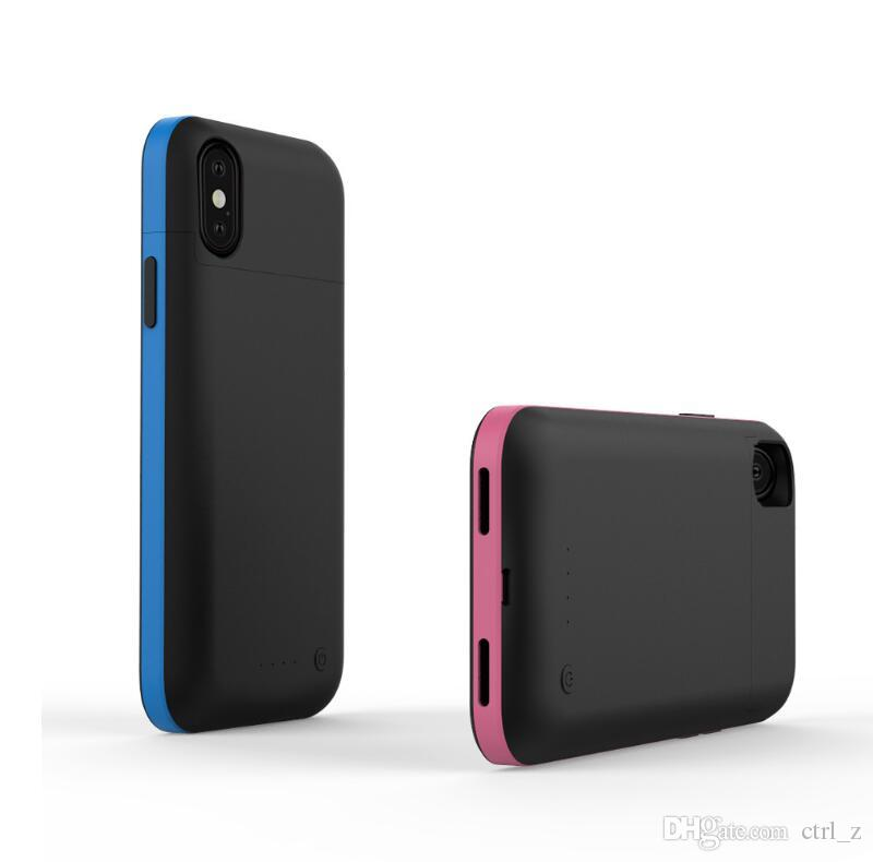 3600mAh /5200mAh Ultra Thin Charging Case For iphone X Battery Charger Case For iphone X Portable Battery Power Bank Cover support audio