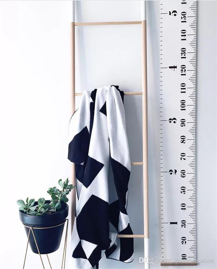 Nordic Style Kinder Höhe Lineal Dekoration Malerei Home Wandkunst Fenster Möbel Aufkleber Kinderzimmer Dekoration