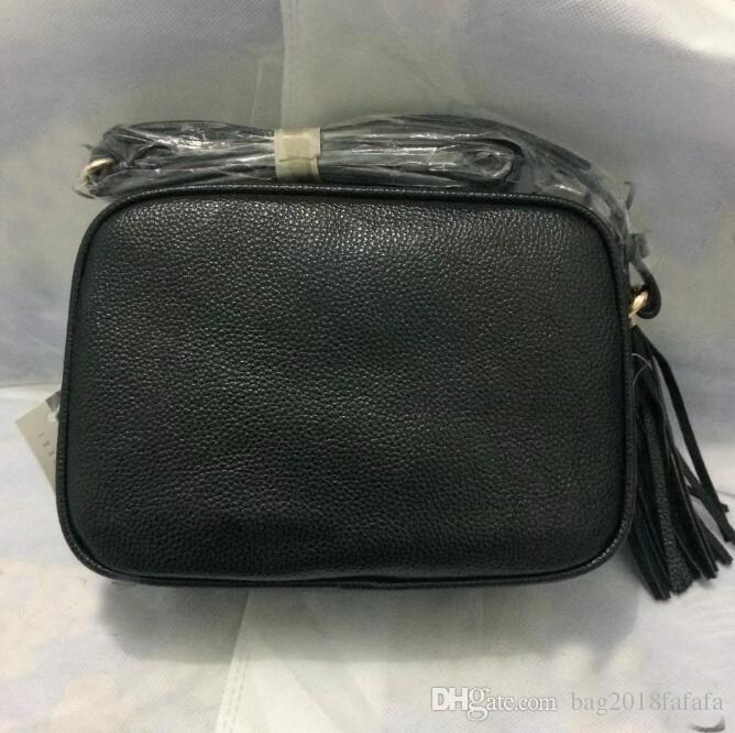 6e2db62651d2 Luxury Handbags Women Tassel Bags Designer Brand Famous Shoulder Bag Lady S  Soho BAGS Black Cross Body Mini Bag Designer Handbags School Bags From ...
