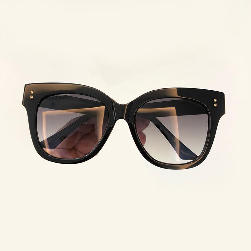 bc806a508a Compre Moda 2019 Gafas De Sol Con Forma De Ojo De Gato Para Mujer Diseñador  De La Marca Transparente Sin Montura De Espejo Gafas De Sol Con Forma De Ojo  De ...
