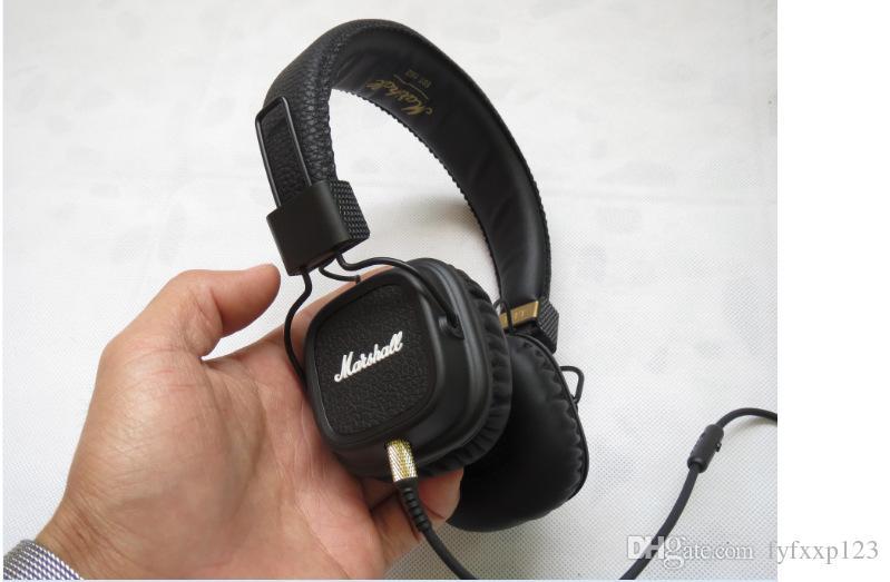 top quanlity Marshall Cuffie principali Mic Deep Bass DJ Hi-Fi Cuffie HiFi Cuffie professionali DJ Monitor Cuffie A137