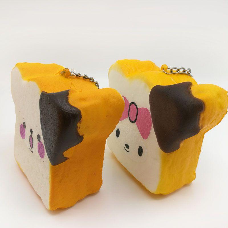 Kawaii Perfume Orange Squishy Bread Slow Rising Bread Simulation Simulation Squeeze Vent Bread Squishies Kids Toys
