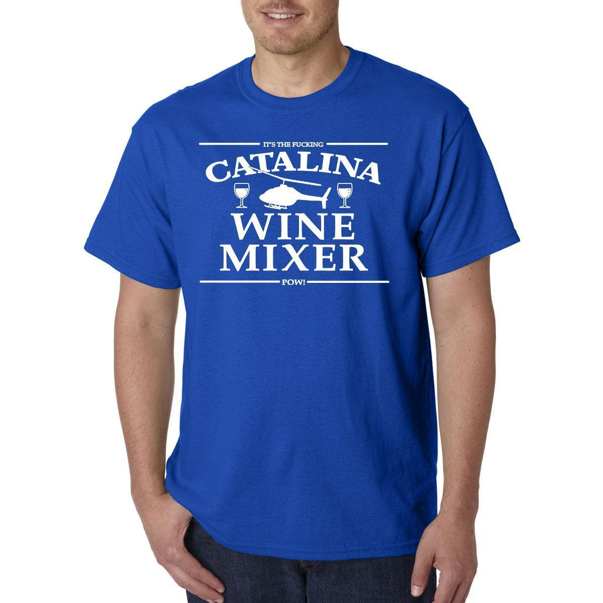 264eedf30 Catalina Wine Mixer T Shirt Prestige Worldwide Step Brothers Boats N Hoes Shirt  T Shirt Funny T Shirts Cheap From Linnan02, $14.67| DHgate.Com