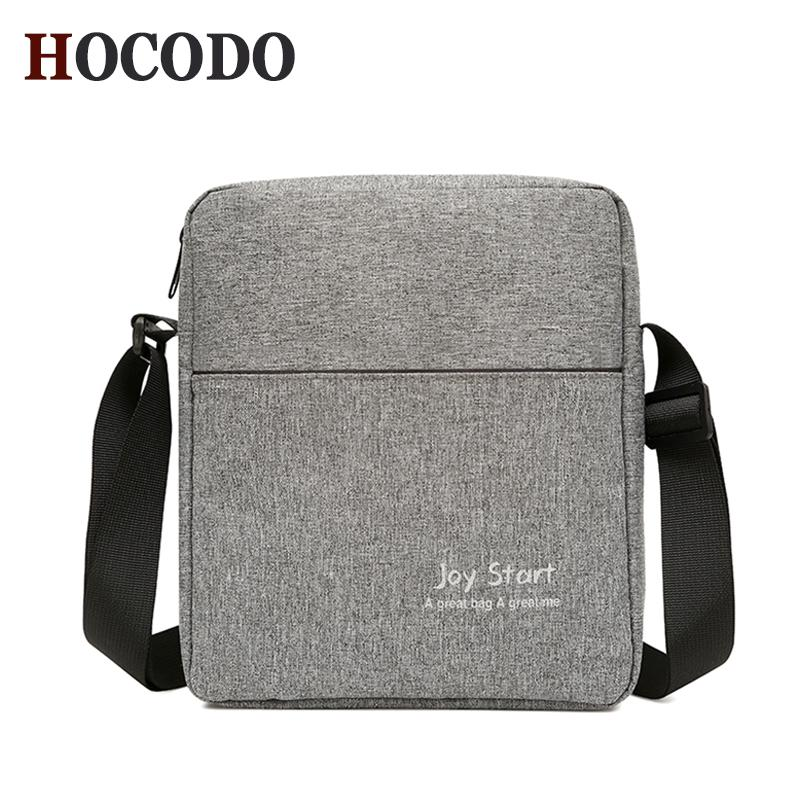 3e9cc4bab5 HOCODO New Men S Casual Shoulder Bag Lightweight Nylon Waterproof Messenger  Bag Fashion Business Crossbody Small Purses Designer Crossbody Bags From ...