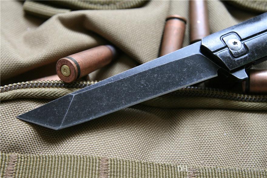 lama in acciaio Miker Tanto coltello pieghevole 9CR18MOV lame di sopravvivenza molto forte lama di caccia degli attrezzi della tasca di campeggio di EDC tattico, coltello da cucina strumento