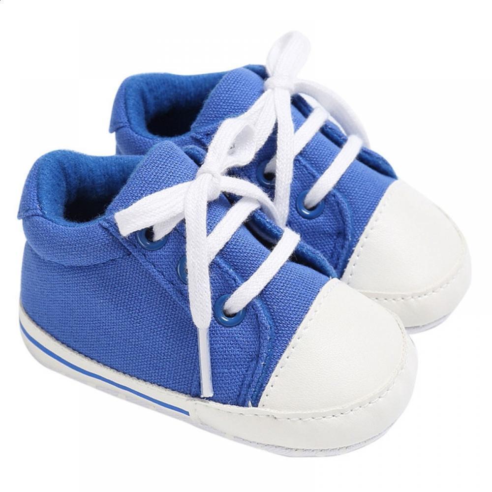 ade70702750e8 Acheter Sneakers Girl Tous Les Vêtements Et ROMIRUS Enfants Pour Toile  Souple Accessoires Chaussures Pour Bébé Sole Nouveau Nés Garçon Berceau  Chaussures De ...