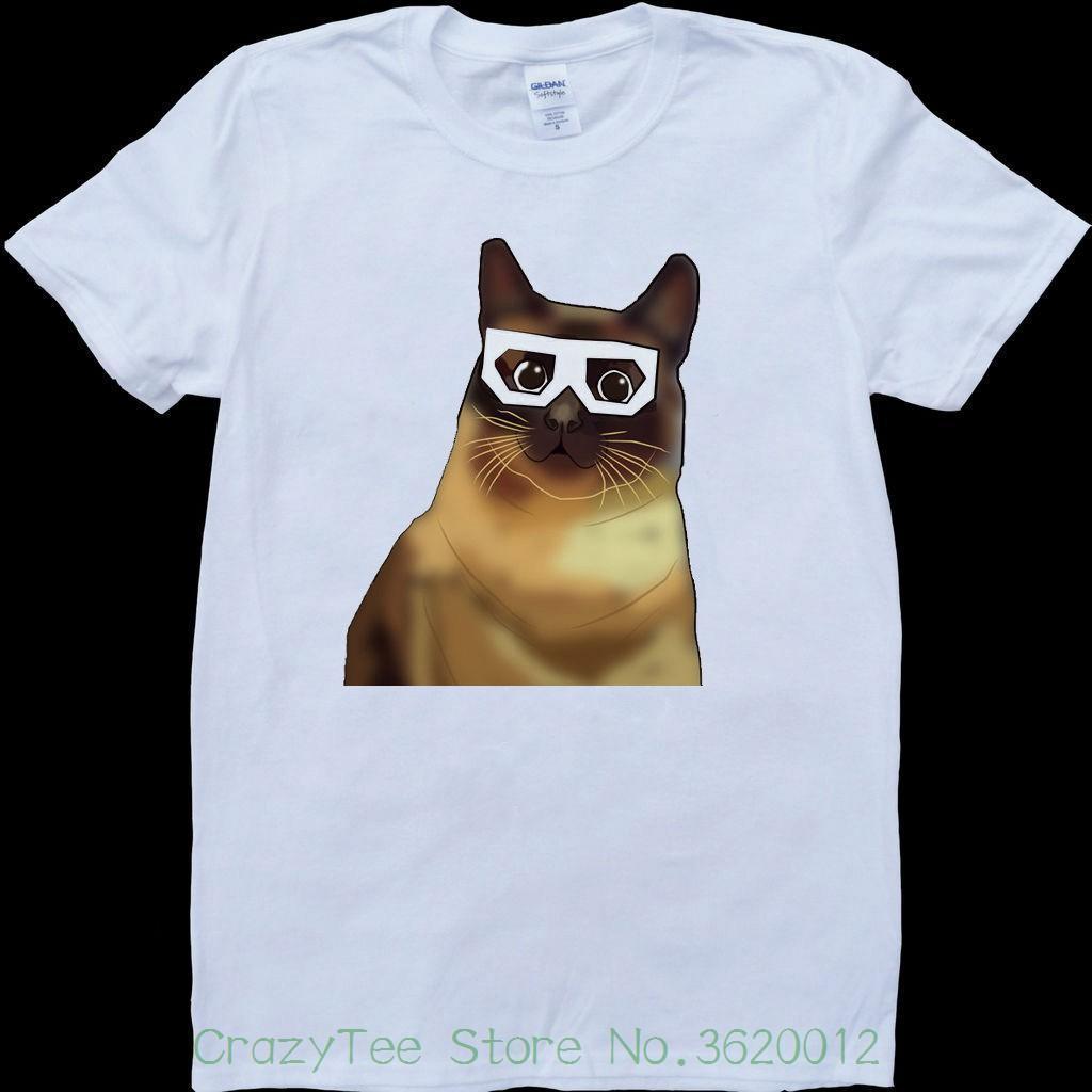 dd78b6ca3 Women's Tee Dubstep Cat White , Custom Made T-shirt Round Neck Printing  T-shirt