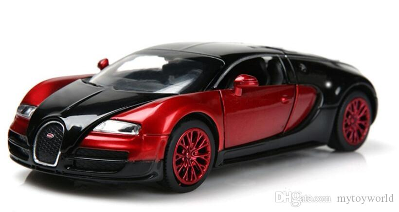 bugatti veyron 2018. 2018 aaaaa 1:32 scale bugatti veyron alloy diecast car model pull back toy cars electronic kids boy from mytoyworld, $6.74   dhgate.com