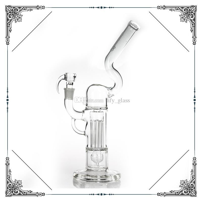 Sovereignty Glass Pint Pilar Pilar Nigno Pilar Puente Claro Grido Imperial Perc Tubos de Agua Bong Glass Bongs Bubbler Oil Rigs Hookah