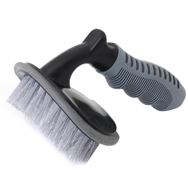 Car Tyre Cleaning Brush T-Type Multi-Functional Wheel Hub Brush Car Washing Tool New Arrival