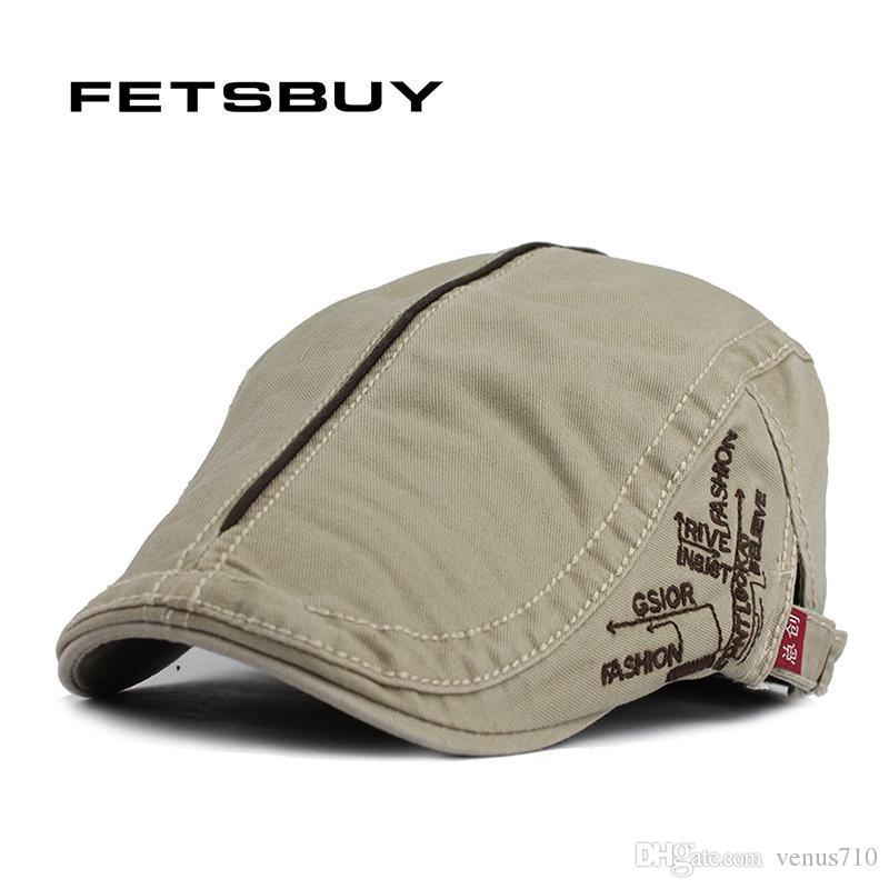 c99630fb175f0 Wholesale-FETSBUY Spring And Autumn Vintage Simple Solid Unisex ...