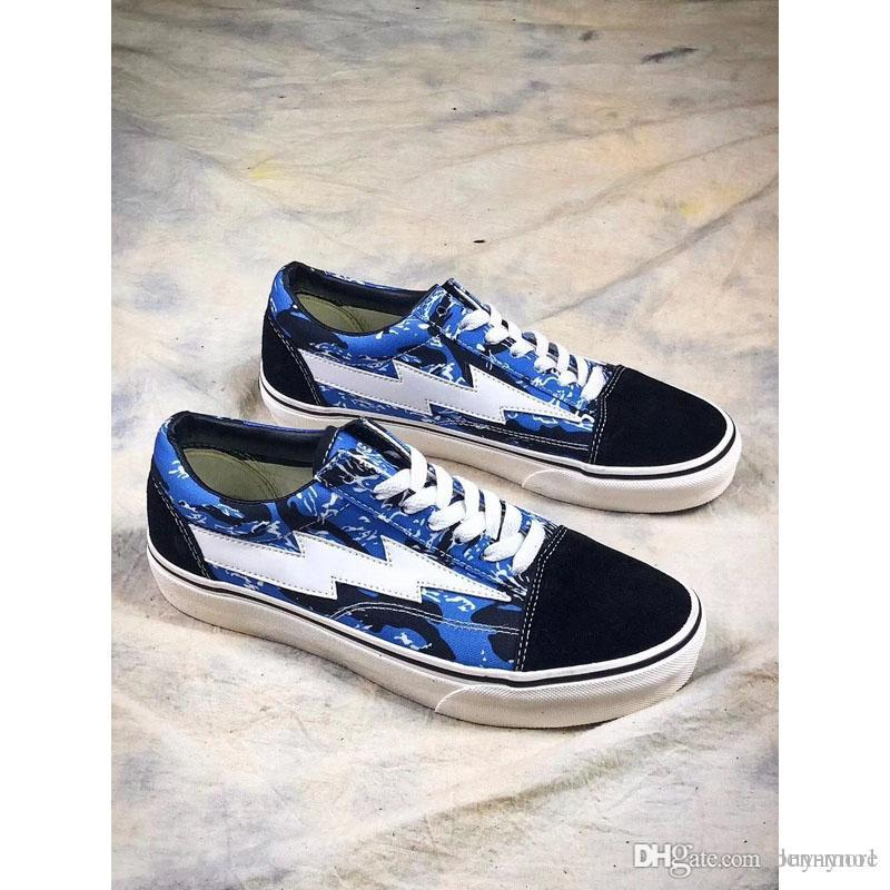 8ab8fbf62cf New Revenge X Storm Blue Camo Casual Shoes Kendall Jenner Best Footwear Ian  Connor Old Skool Fashion Current Shoes Suede Shoes Shoe Sale From Buy More