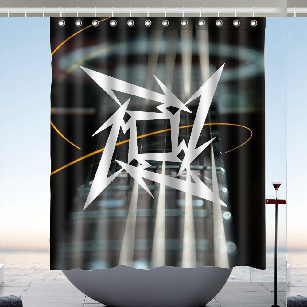 Tenda da doccia design per tende da bagno in poliestere da 60 x 72
