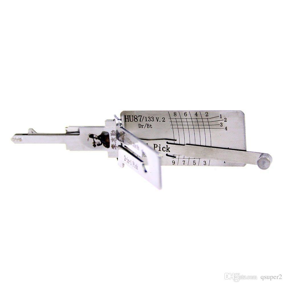 لى شى HU87 سوزوكي 2 في 1 قفل اختيار وحدة فك الترميز