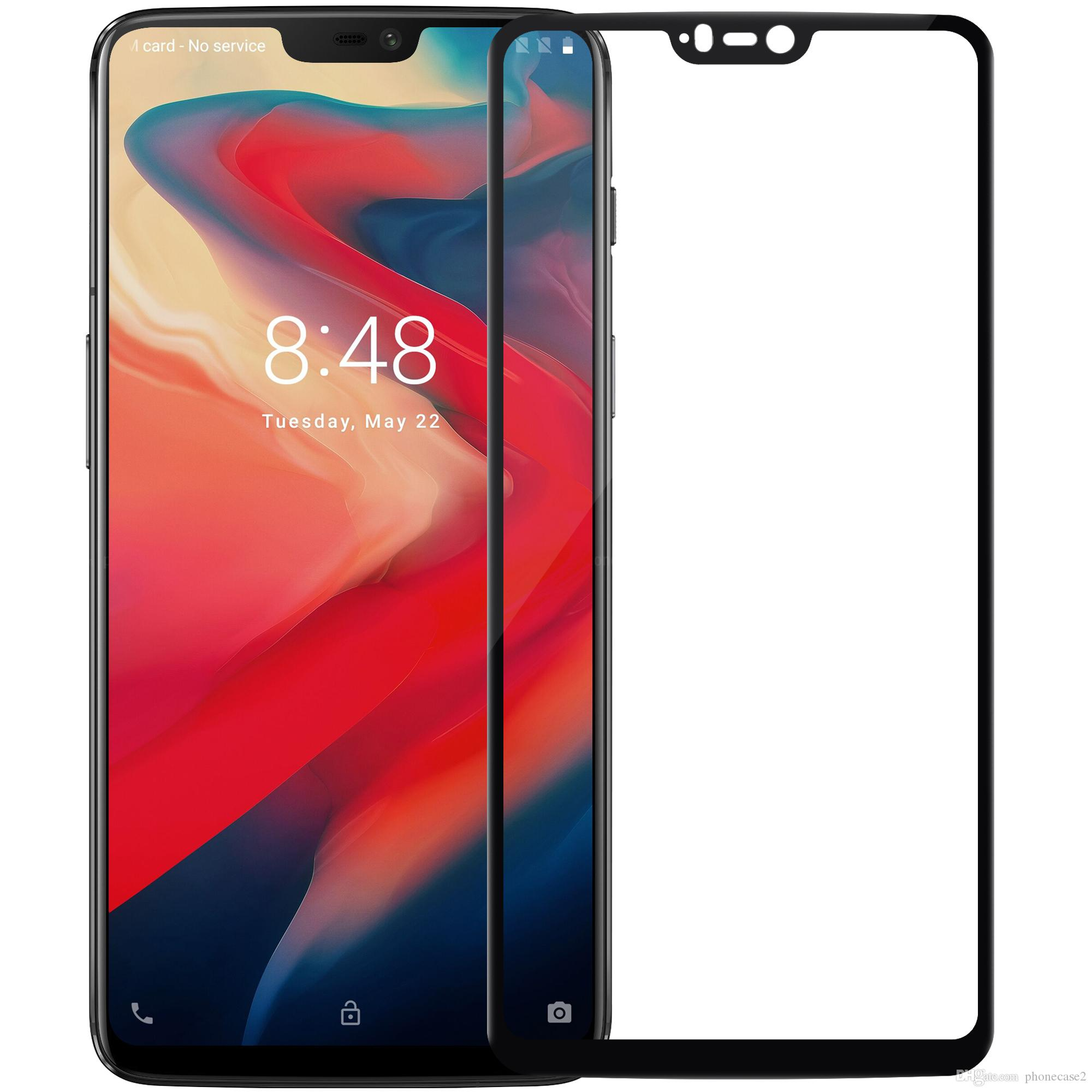 timeless design 380c9 8c41e OnePlus 6 Glass fIlm Screen Protector Nillkin Anti-Explosion 2.5D CP+  safety Full cover Glass For oneplus6 one plus 6