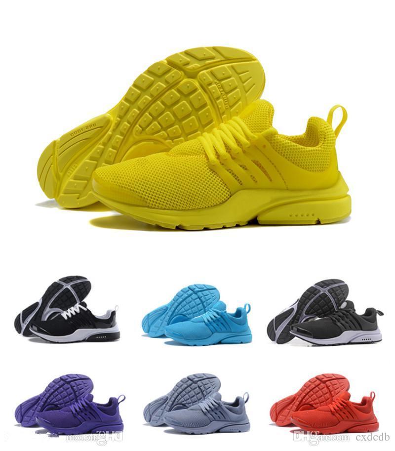 brand new c0d2c 1f646 2019 Running Shoes Presto Ultra Run Triple Black White Yellow Sock Dart  Casual Cheap Women Mens Sneakers Socks Casual Sports Shoe Trainer From  Cxdcdb, ...