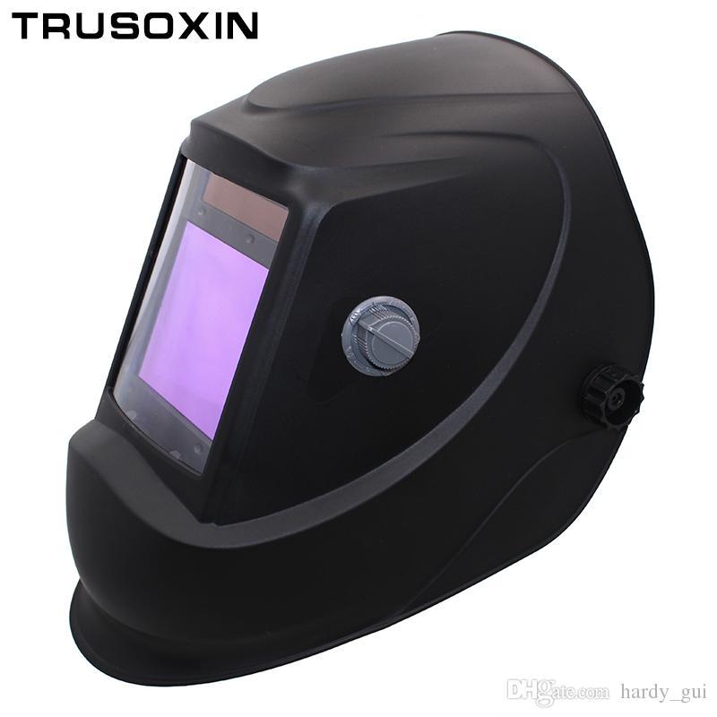 Compre Big View Eara 4 Sensor De Arc Din5 Din13 Solar Auto Escurecimento  Tig Mig Mma Máscara De Solda De Moagem   Capacete   Soldador Cap   Soldador  Óculos ... da83de39f0