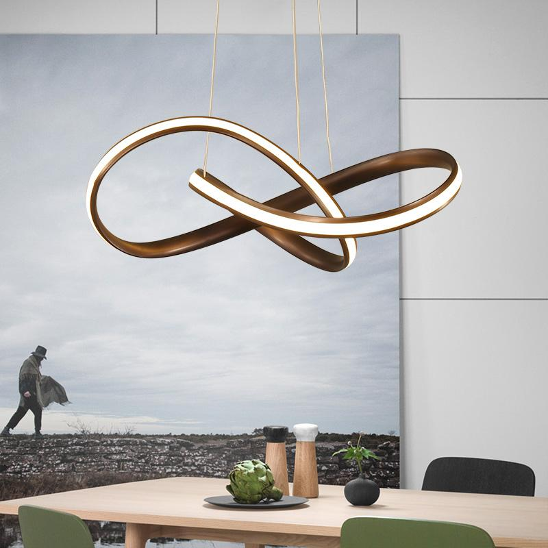 Modern Led Chandelier For Kitchen Dining Room Living Room Suspension - Modern chandelier for dining table