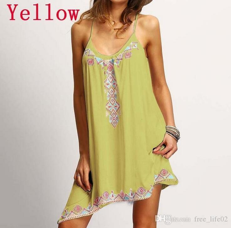 Wholesale S-5XL Fashion women flower printed loose beach skirt swimsuit cover ups