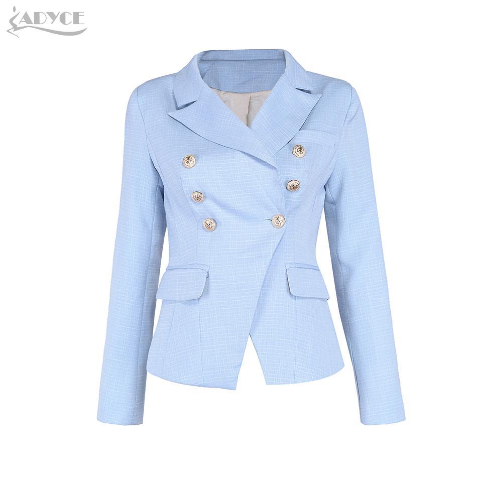 2017 Nuovo arrivo Luxury Runway Giacche Donna Cappotti Nero Royal Blue Sky Blue Slim manica lunga Celebrity Lady Faux Fur basic Coat
