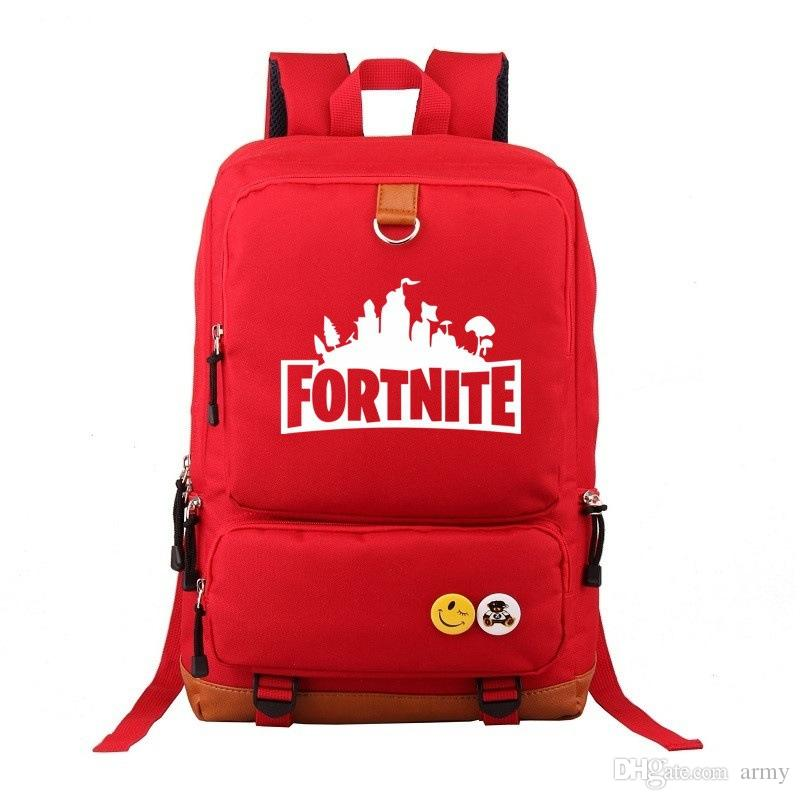 a688fa8823 2019 Hot Fortnite Battle Royale Travel Backpack Unisex Kids School Shoulder  Bags Backpack Teenager Students Bag Sports Tote Xmas From Army