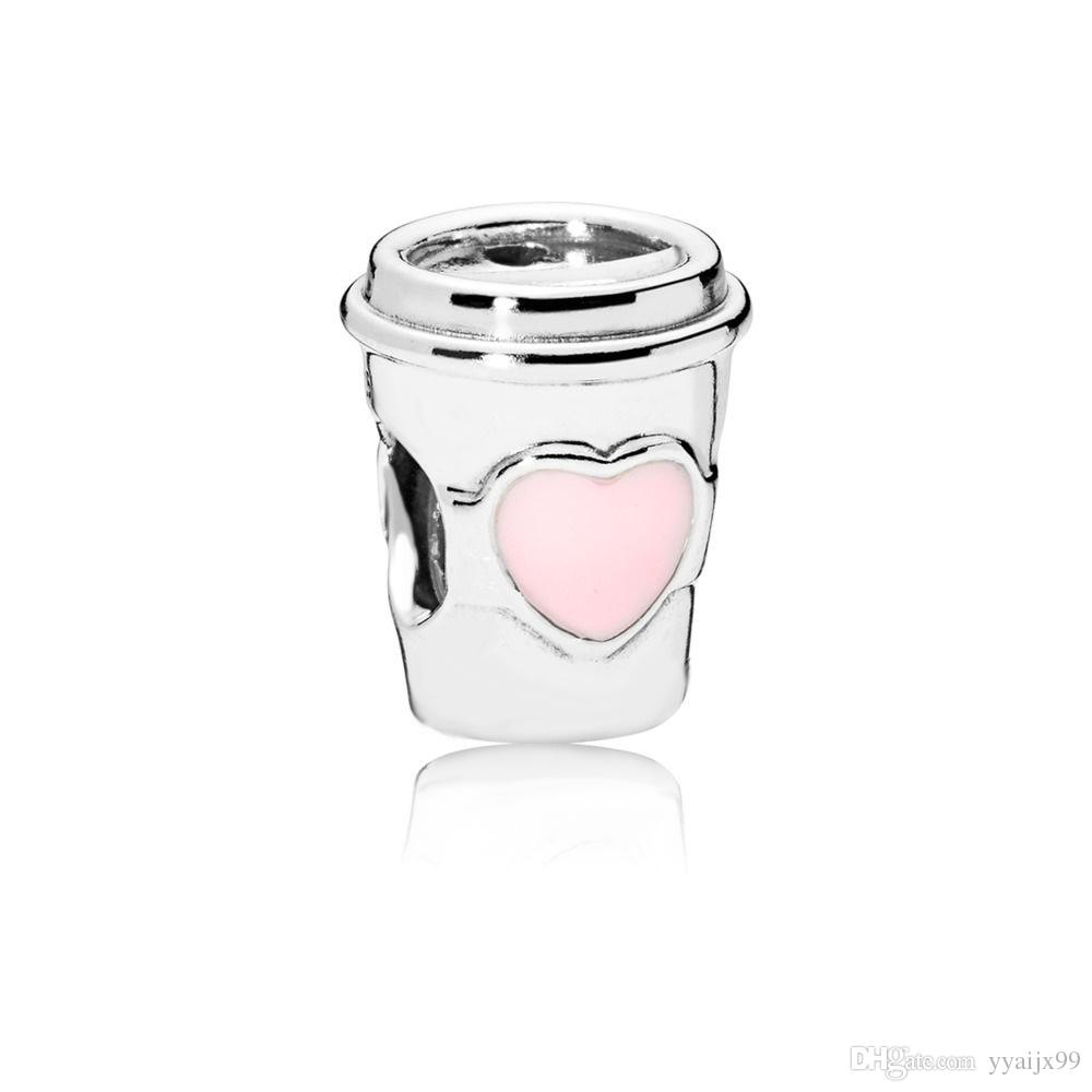 c71b282c6 2019 New Hot Coffee Cup Charms S925 Sterling Silver Charms Fits For Pandora  Style Bracelet Diy Charms From Yyaijx99, $14.22 | DHgate.Com